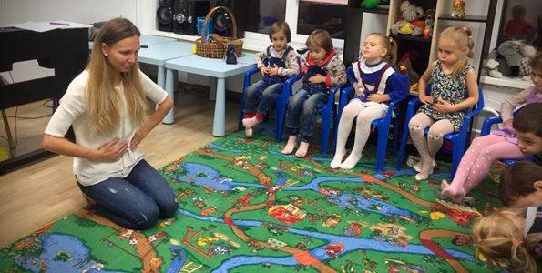 Развитие  певческого дыхания у детей